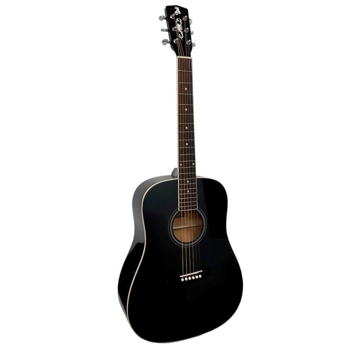Alicante Titanium BK Акустическая гитара с широким грифом (48 мм)