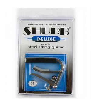 Shubb Capos Deluxe S1 Каподастр для акустической/электрогитары гитары