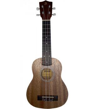 UKA-21M NS укулеле сопрано, материал meranti