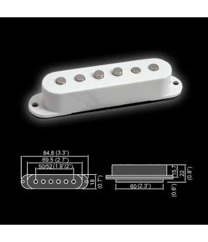 BELCAT BS-06CR Датчик для электрогитары single